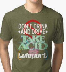 Teleport - Dark Tri-blend T-Shirt