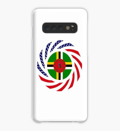 Dominica American Multinational Patriot Flag Series Case/Skin for Samsung Galaxy