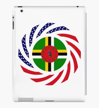 Dominica American Multinational Patriot Flag Series iPad Case/Skin