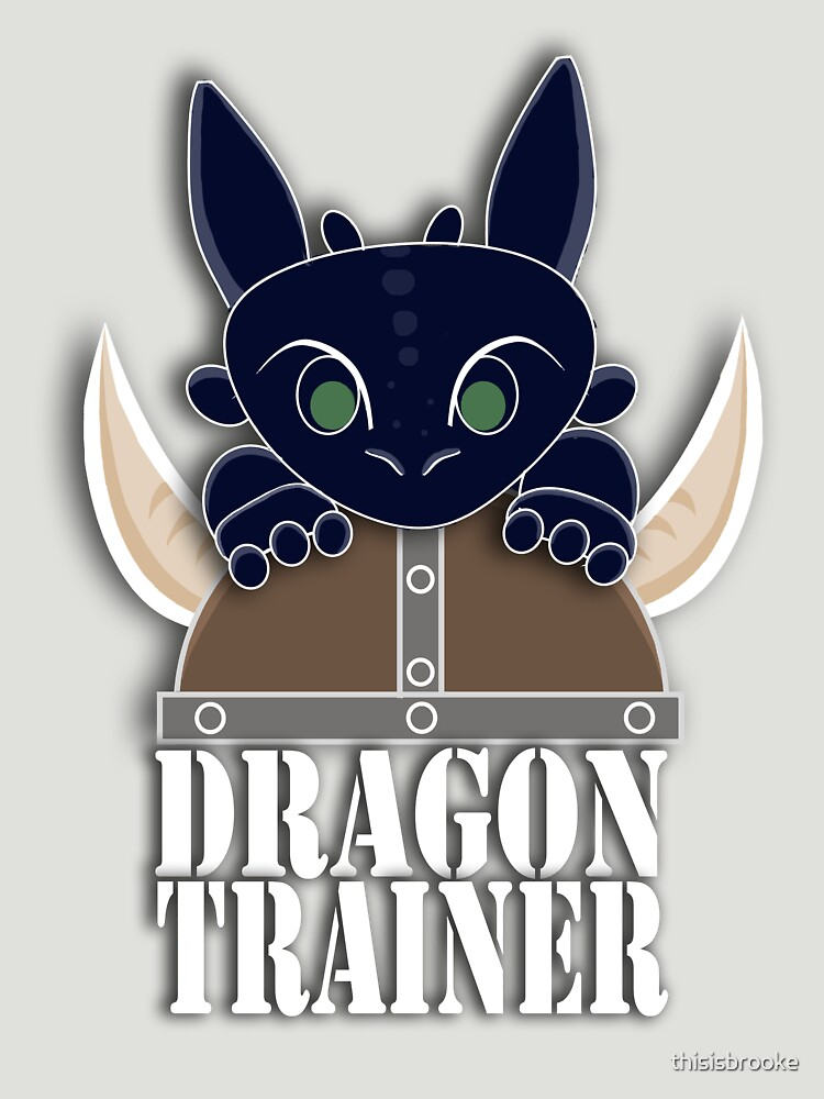 Dragon Trainer Tee (With Text) | Unisex T-Shirt