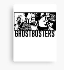 Ghostbusters Comic Book Style Canvas Print