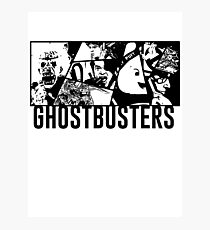 Ghostbusters Comic Book Style Photographic Print