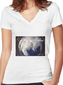 Law of Attraction Women's Fitted V-Neck T-Shirt