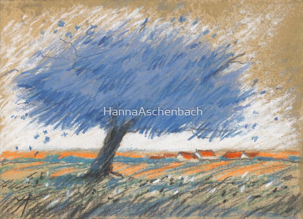 Pflaumen-Wolke by HannaAschenbach