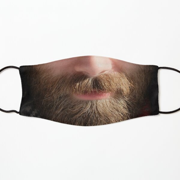 funny realistic beard Kids Mask