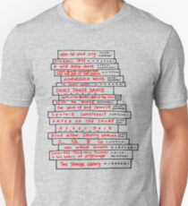 Haruki Murakami Buch Fan Slim Fit T-Shirt