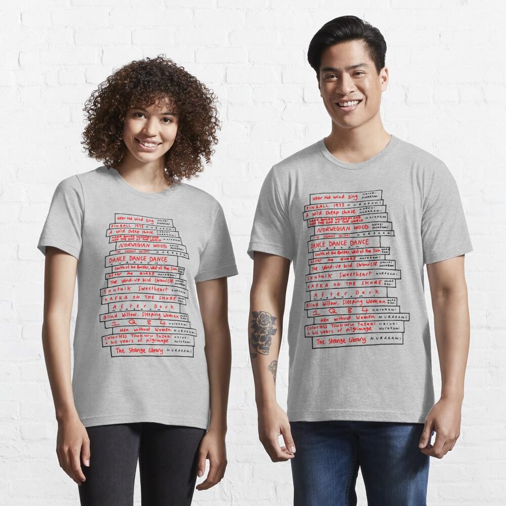 Haruki Murakami Book Fan Essential T-Shirt