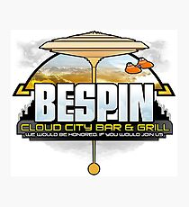Bespin: Cloud City Bar & Grill Photographic Print