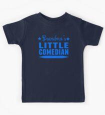 Grandma's Little Comedian Kids Tee