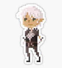 Pixel Fenris - Dragon Age Sticker