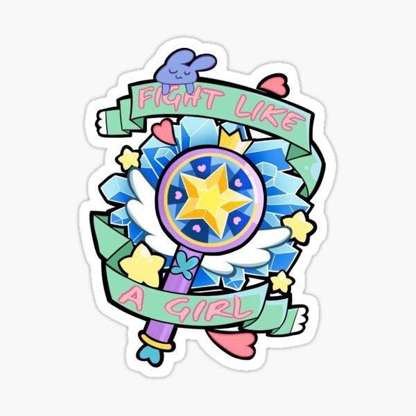 Star Butterfly Sticker