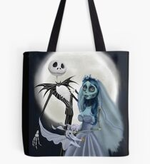 Tim burton mash up Tote Bag