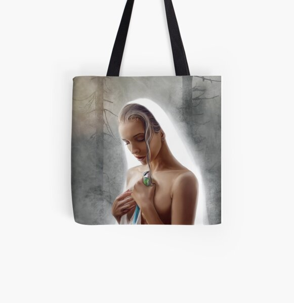 Those who protect and save Allover-Print Tote Bag