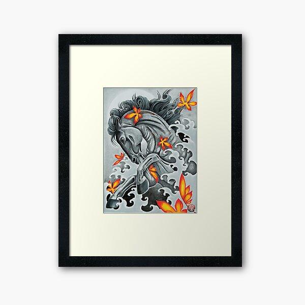 Helios Horse Framed Art Print