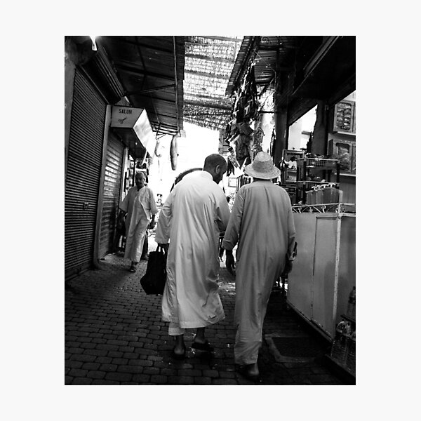 Marrakech souk Photographic Print