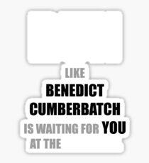 Run like Benedict Cumberbatch is waiting! Sticker