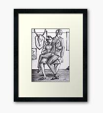 Hannibloom - Drunk Framed Print