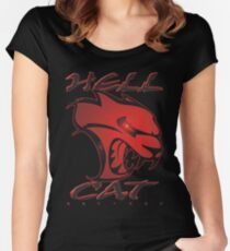 Hellcat Glare Women's Fitted Scoop T-Shirt