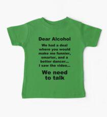 Dear Alcohol Kids Clothes