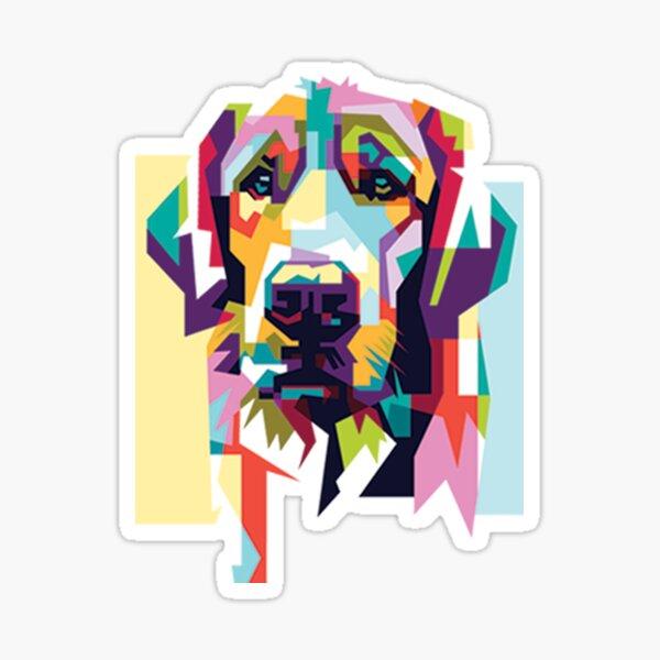Dog illustration Sticker