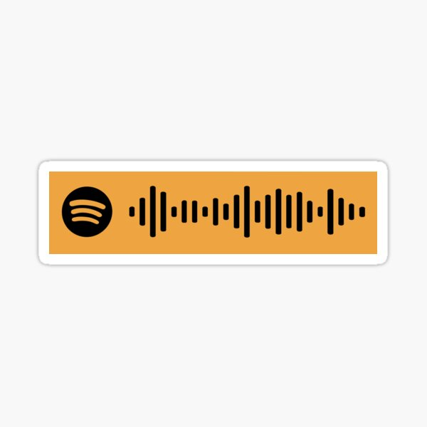 Bliss Muse Spotify Scan Code Sticker