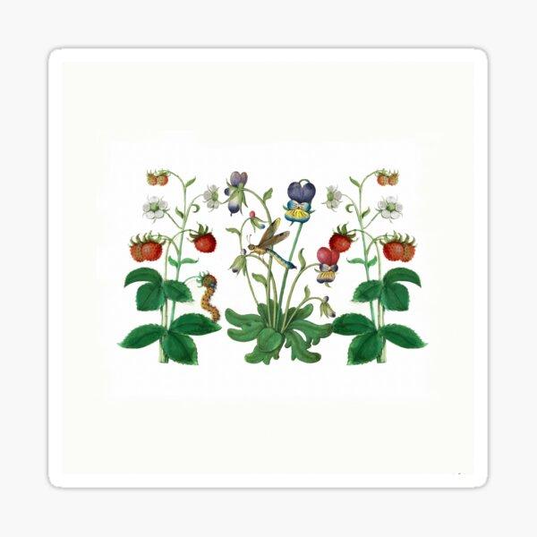 The Botanicals - a medley Sticker