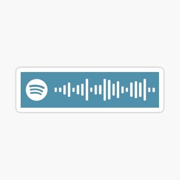 Last Christmas Wham! Spotify Scan Code Sticker