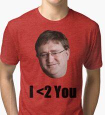 We <2 You Too Gabe Tri-blend T-Shirt