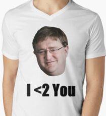 We <2 You Too Gabe Men's V-Neck T-Shirt