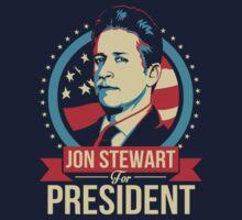 Jon Stewart for President  | Unisex T-Shirt
