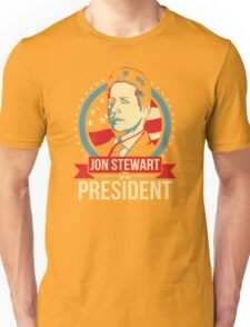 Jon Stewart for President  T-Shirt