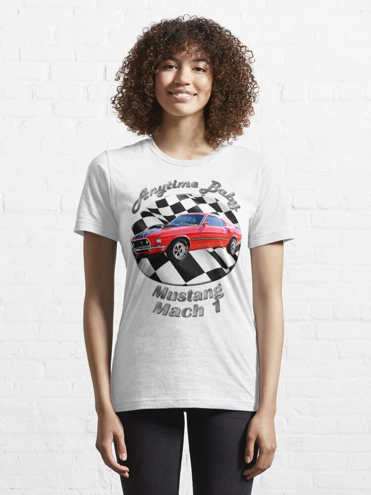 Alternate view of Ford Mustang Mach 1 Anytime Baby Essential T-Shirt