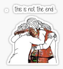 one direction last hug  Sticker