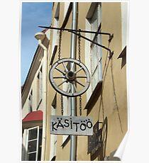 Estonian Handicrafts Poster