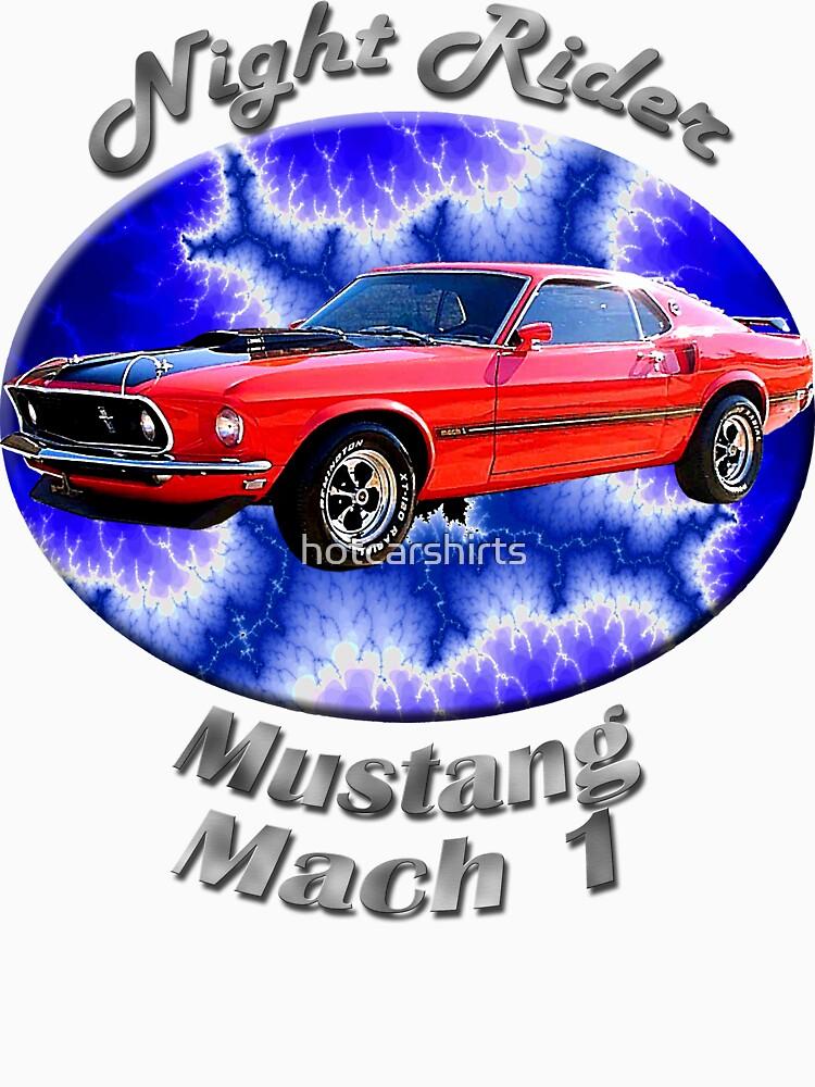 Ford Mustang Mach 1 Night Rider by hotcarshirts