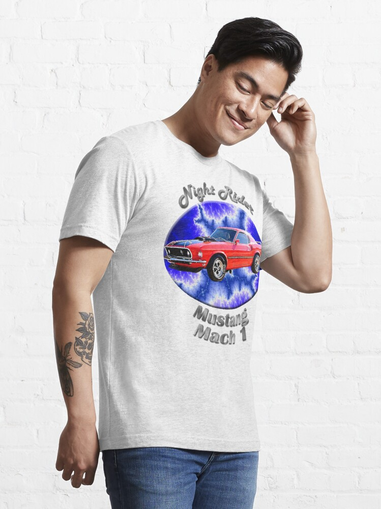 Alternate view of Ford Mustang Mach 1 Night Rider Essential T-Shirt