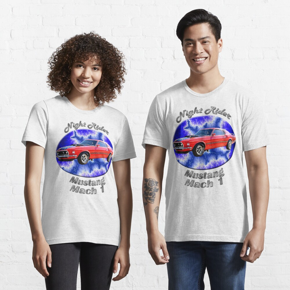 Ford Mustang Mach 1 Night Rider Essential T-Shirt