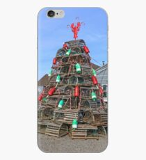 Vinilo o funda para iPhone Coastal Maine Christmas Tree