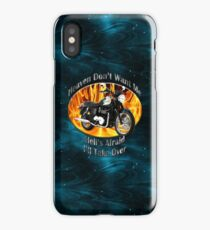 Triumph Bonneville Heaven Don't Want Me iPhone Case/Skin