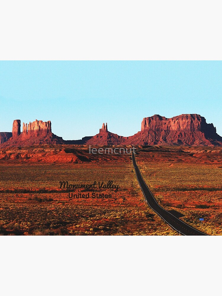Monument Valley Us Beautiful Monument Valley And Us 163 Art Board Print By Leemcnut Redbubble