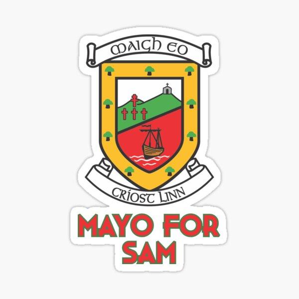 Mayo For Sam Maguire Gaelic Football GAA Sticker