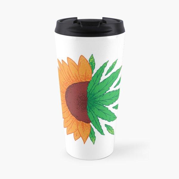 SUNFLOWER WEED Travel Mug