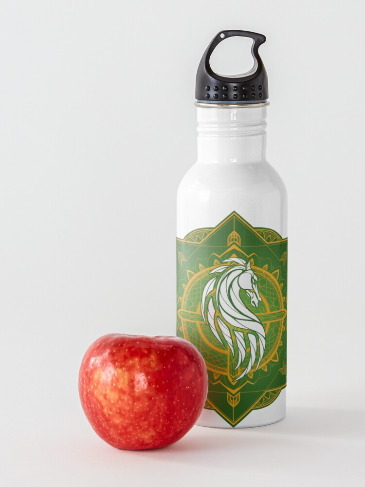 Alternate view of Rider of Rohan (Heraldic Colours) Water Bottle