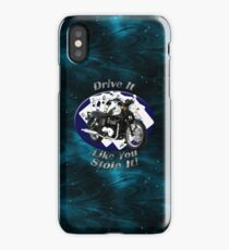 Triumph Bonneville Drive It Like You Stole It iPhone Case/Skin