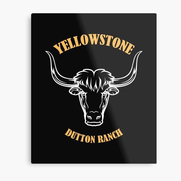 Yellowstone Dutton Ranch Metal Print