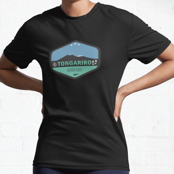 Tongariro Northern Circuit New Zealand Active T-Shirt