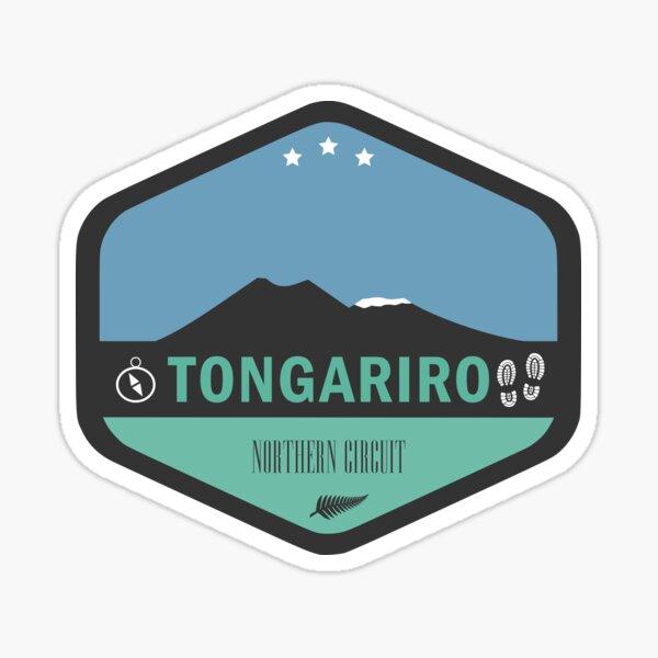 Tongariro Northern Circuit New Zealand Sticker
