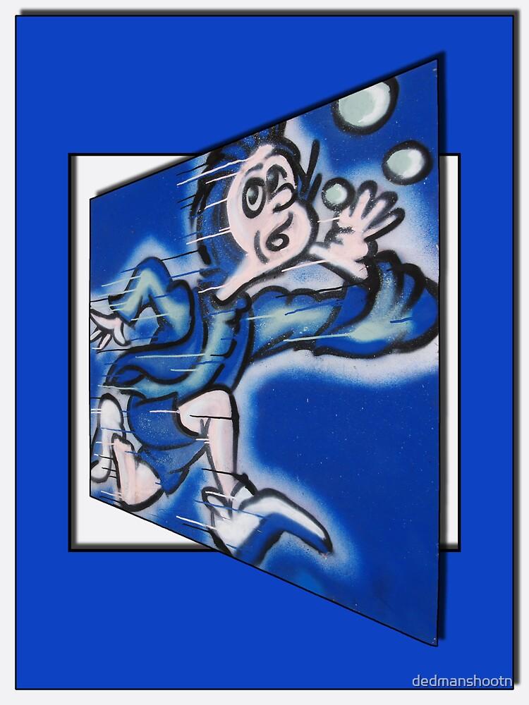 blue boy runnin' by dedmanshootn
