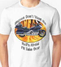Honda Gold Wing Heaven Don't Want Me Unisex T-Shirt