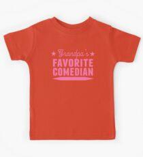 Grandpa's Favorite Comedian Kids Clothes